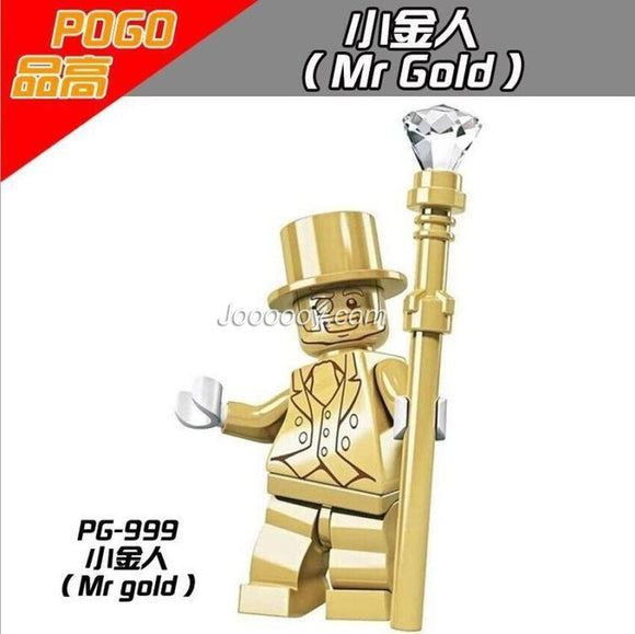 PG999 Mr Gold Minifigures
