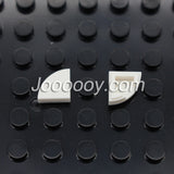 100 pcs 1*1 quarter circle MOC bricks