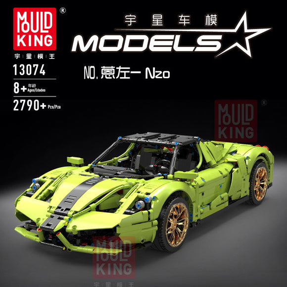 2756PCS MOULD KING 13074 Ferrari Enzo