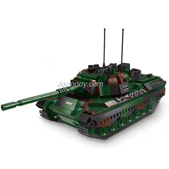 1145PCS XB06049 Leopard 1 main battle tank