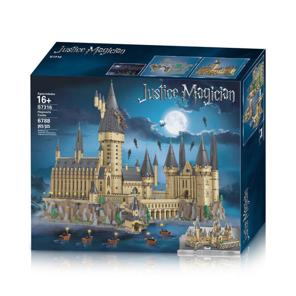6788PCS S7316 Hogwarts Castle Auditorium