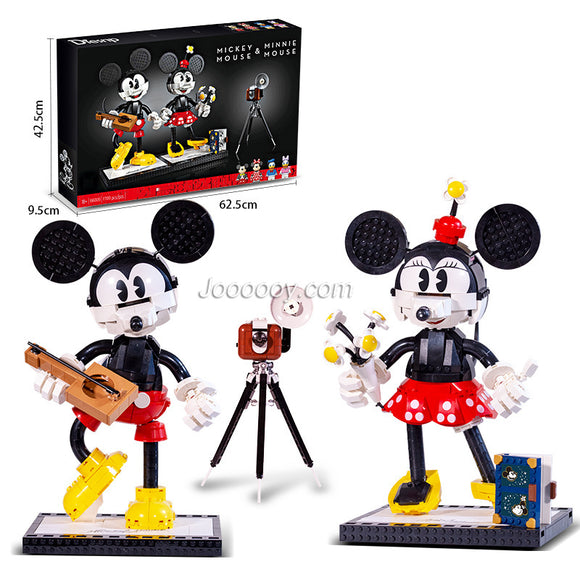 1739PCS 66009 Disney Mickey Mini standing blocks