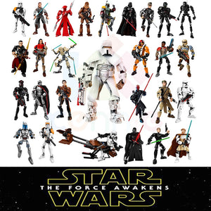 28 styles KSZ Star Wars Rogue One Toys Jango K-2SO Darth Vader General Grievous Figure building blocks