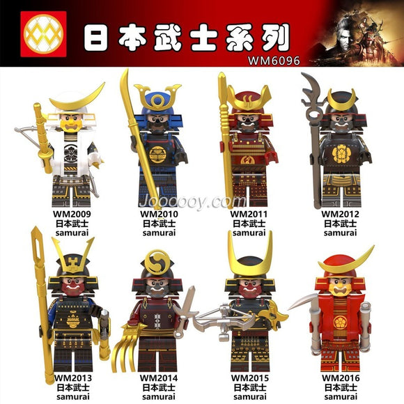 WM6096 Set sale Samurai Series Anime Figure