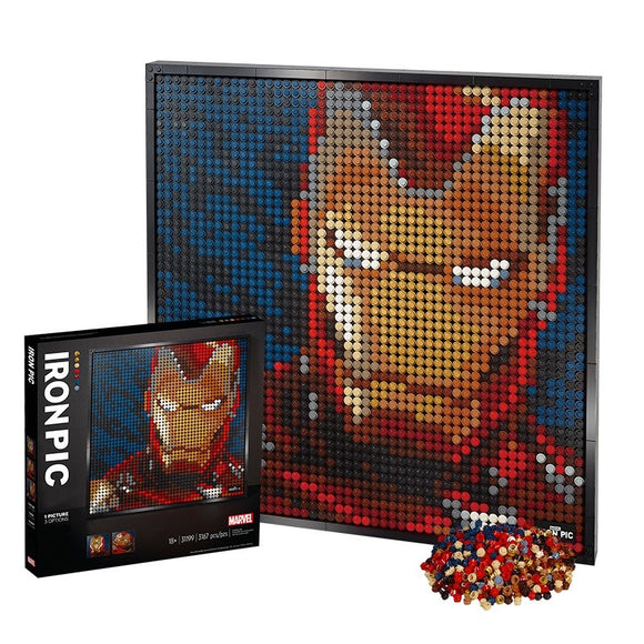 Mosaic Portrait: Iron man