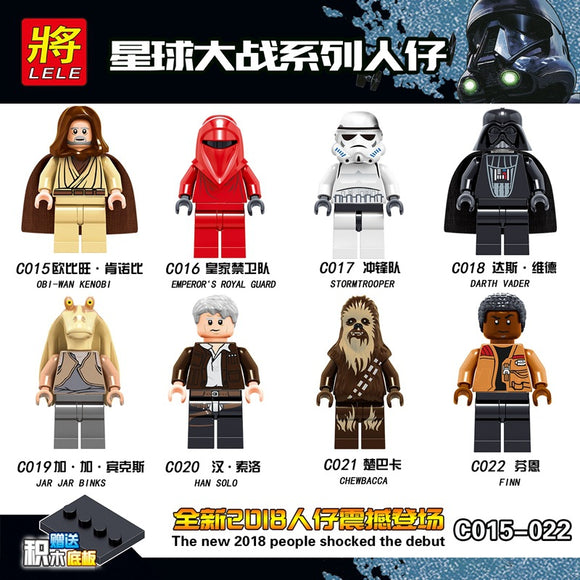 star wars mini figures 15-22