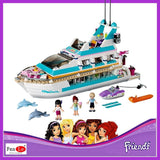 41015 Friends set Girl Series toys Dolphin Cruiser kids Bricks