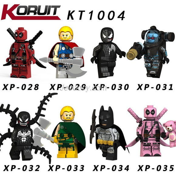 KT1004 Superhero series minifigures