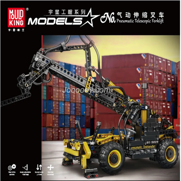 803PCS MOLDKING 19009 Pneumatic Telescopic Forklift