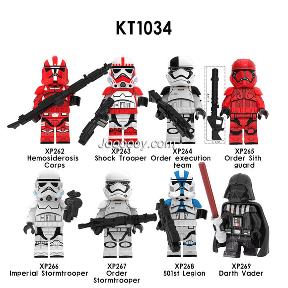 KT1034 Star Wars Minifigures
