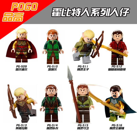 PG8027 Figures Lord of the Rings Series Tariel Model Haldir Building Blocks