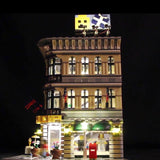 DIY LED Light Up Kit For Grand Emporium 15005 - Your World of Building Blocks