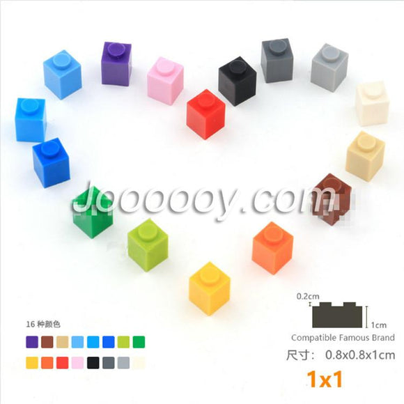 20 pcs 1*1 bricks MOC bricks