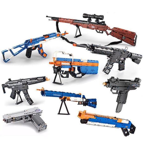 CADA Sniper Rifle Bricks Guns
