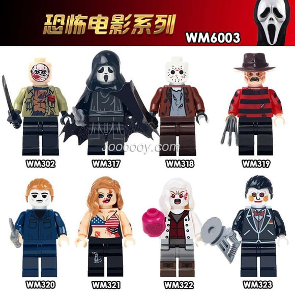 WM6003 Horror movie series minifigures
