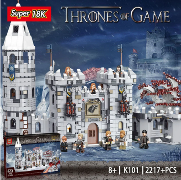 2217PCS K101 Game of Thrones:Winterfell