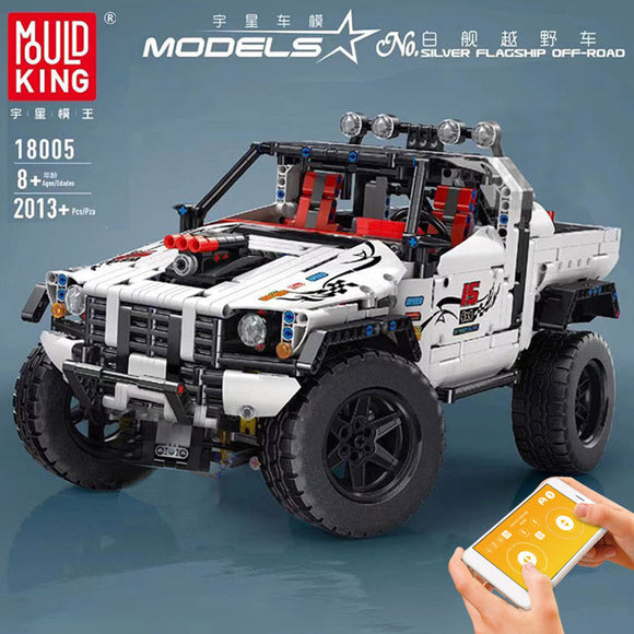 2013PCS MOULDKING 18005 Silver Flagship Off-Road
