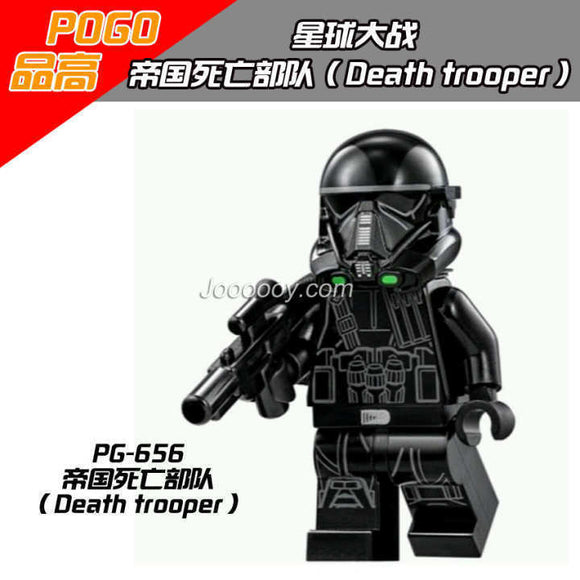 black death trooper star wars minifigures PG656