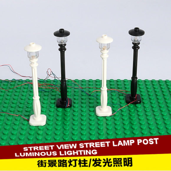 DIY LED Light Pole for MOC