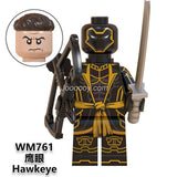 WM6068 Superhero series minifigures