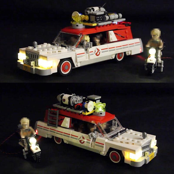 DIY LED Light Kit For The Ghostbusters Ecto-1&2 16032 - Your World of Building Blocks