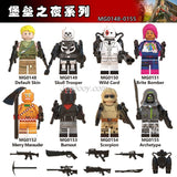 MG0148-0155 Fortnite Minifigures