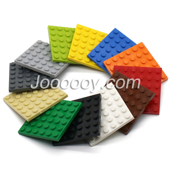 3 pcs 6*6 plates MOC bricks