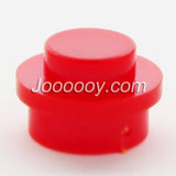 100 pcs 1*1 round plates MOC bricks