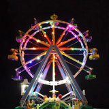 DIY LED Light Up Kit For Ferris Wheel 15012 - Your World of Building Blocks