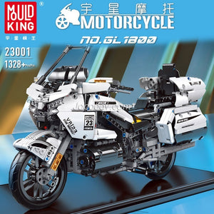 1328PCS MOULDKING 23001 Honda GoldenWing GL 1800 motorcycle