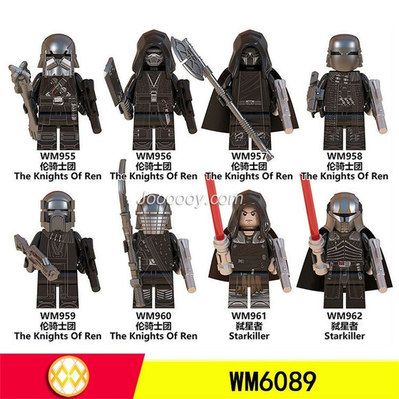 WM6089 Knights minifigures