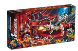 1060PCS 80021 Skull Sorcerer's Dragon