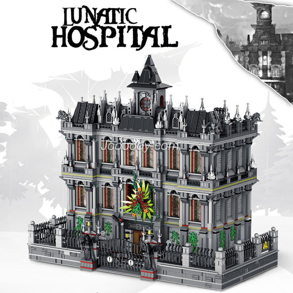 7527Pcs panlos 613002 Lunatic Hospital