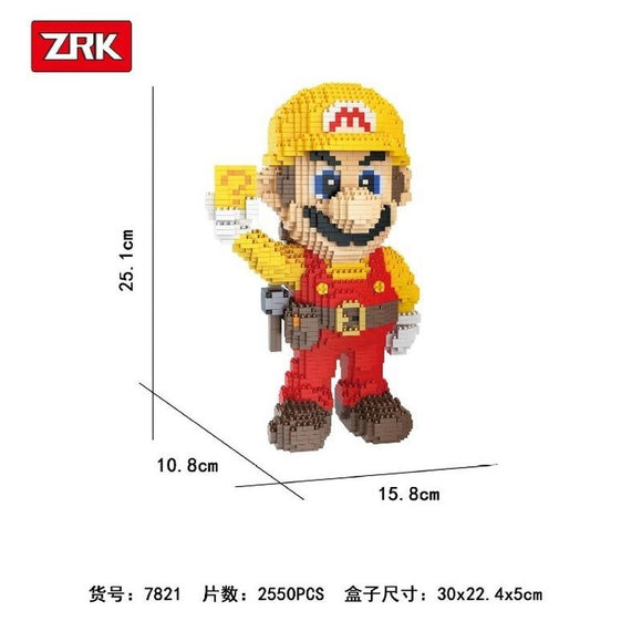 ZRK 7821 The Mario Block Micro-diamond