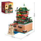 6786PCS 55121 Spirited Away Oil House