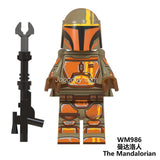 WM6092 Mandalorian series minifigures