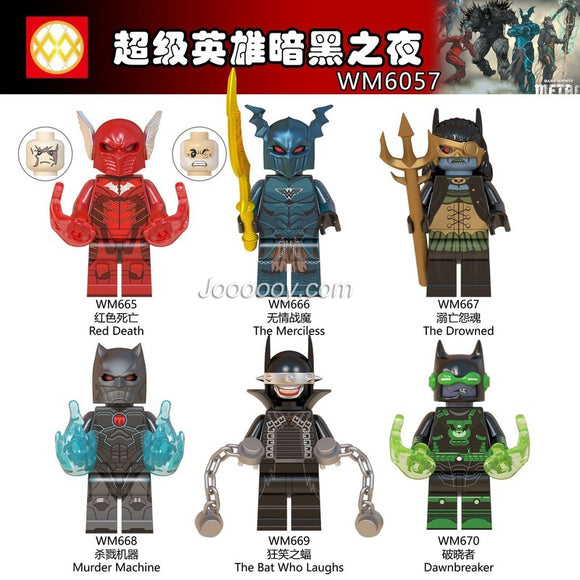 WM6057 Superhero series minifigures