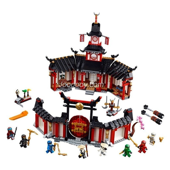 1112PCS BELA11165 Monastery of Spinjitzu