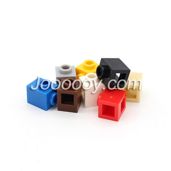 50 pcs 1*1 bricks with 2 holes MOC bricks