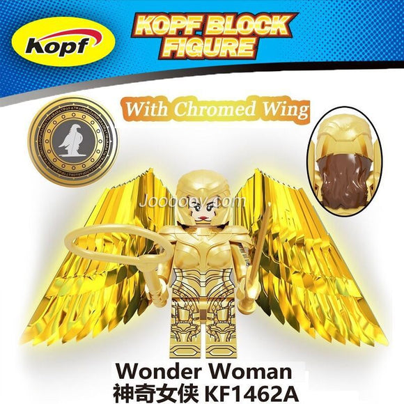 KF1462A  Wonder Woman Minifigure with chromed wing
