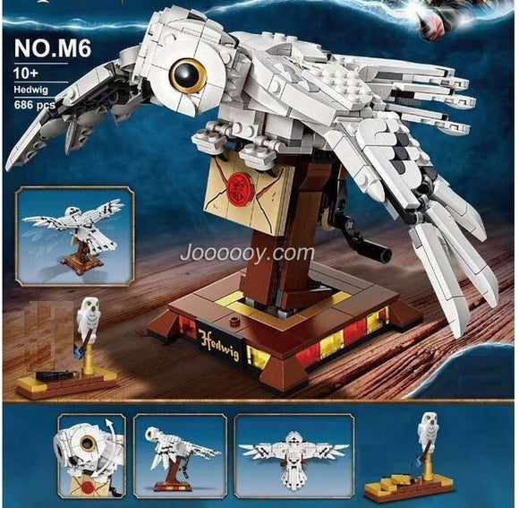 630PCS Movies Build version Hedwiglys  75979