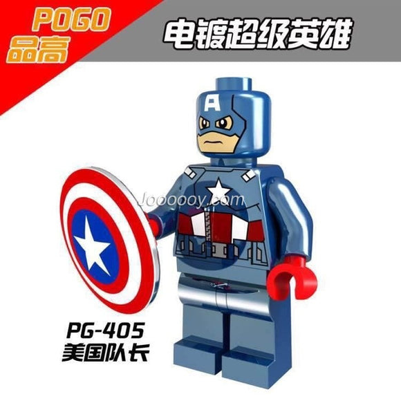 PG405 Super Hero Chrome Minifigures