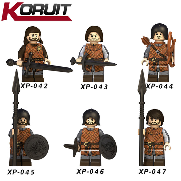 Game of Thrones Ice and Fire Song minifigures