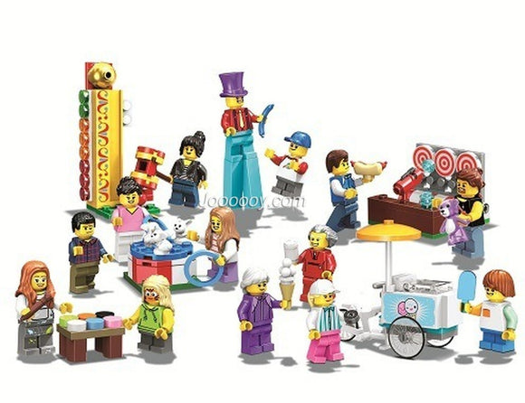 183PCS LARI 11389 People Pack - Fun Fair
