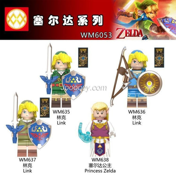 WM6053 Zelda series princess minifigure