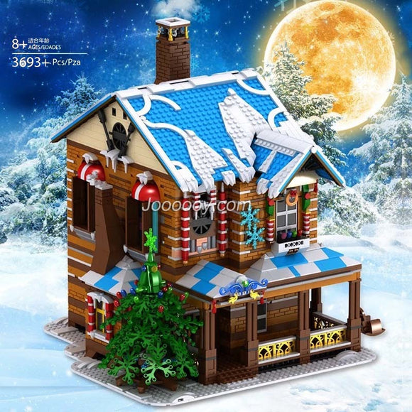 3693PCS Mould King 16011 Merry Christmas:Christmas House