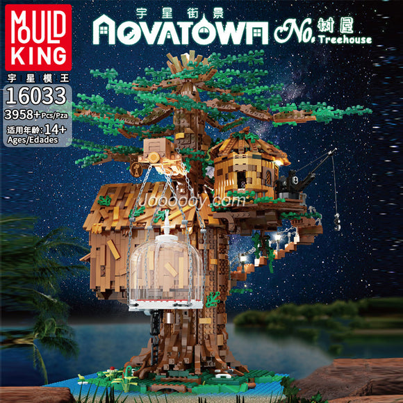 3958PCS MOULDKING 16033 Aovatown:Tree House