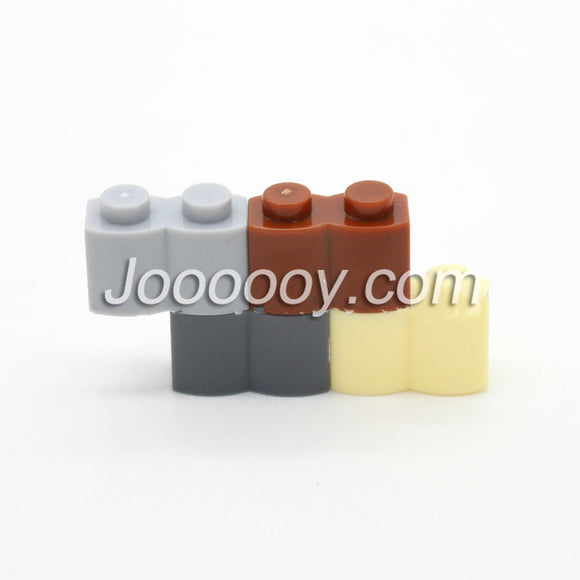 20 pcs 1*2 S-wall bricks MOC bricks