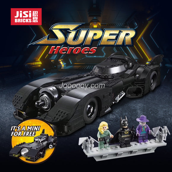 Jisi(decool)  7188 Batman 1989 Batmobile with little car