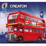 1807PCS GM 85023 Double Decker London Bus